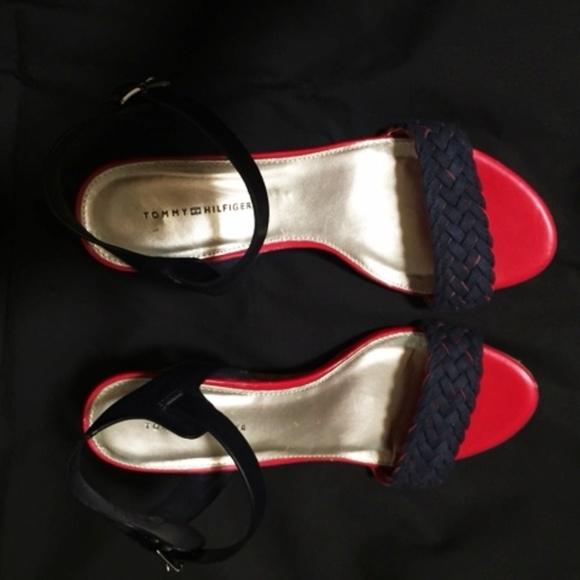 53a1d28e5 Tommy Hilfiger Shoes - Tommy Hilfiger Women s Wedge Sandal